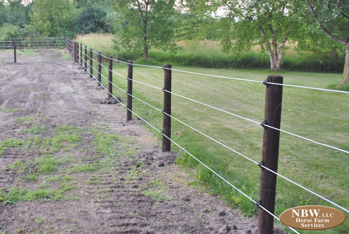 White Lightning Fencing Horse Farm Services