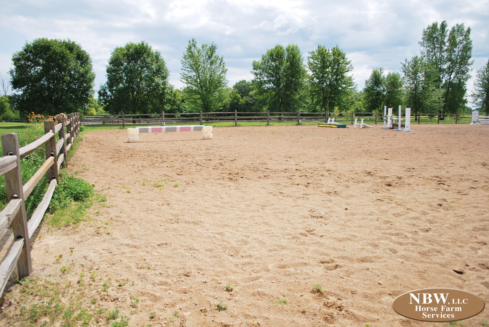 Arena Construction & Footings – Horse Farm Services