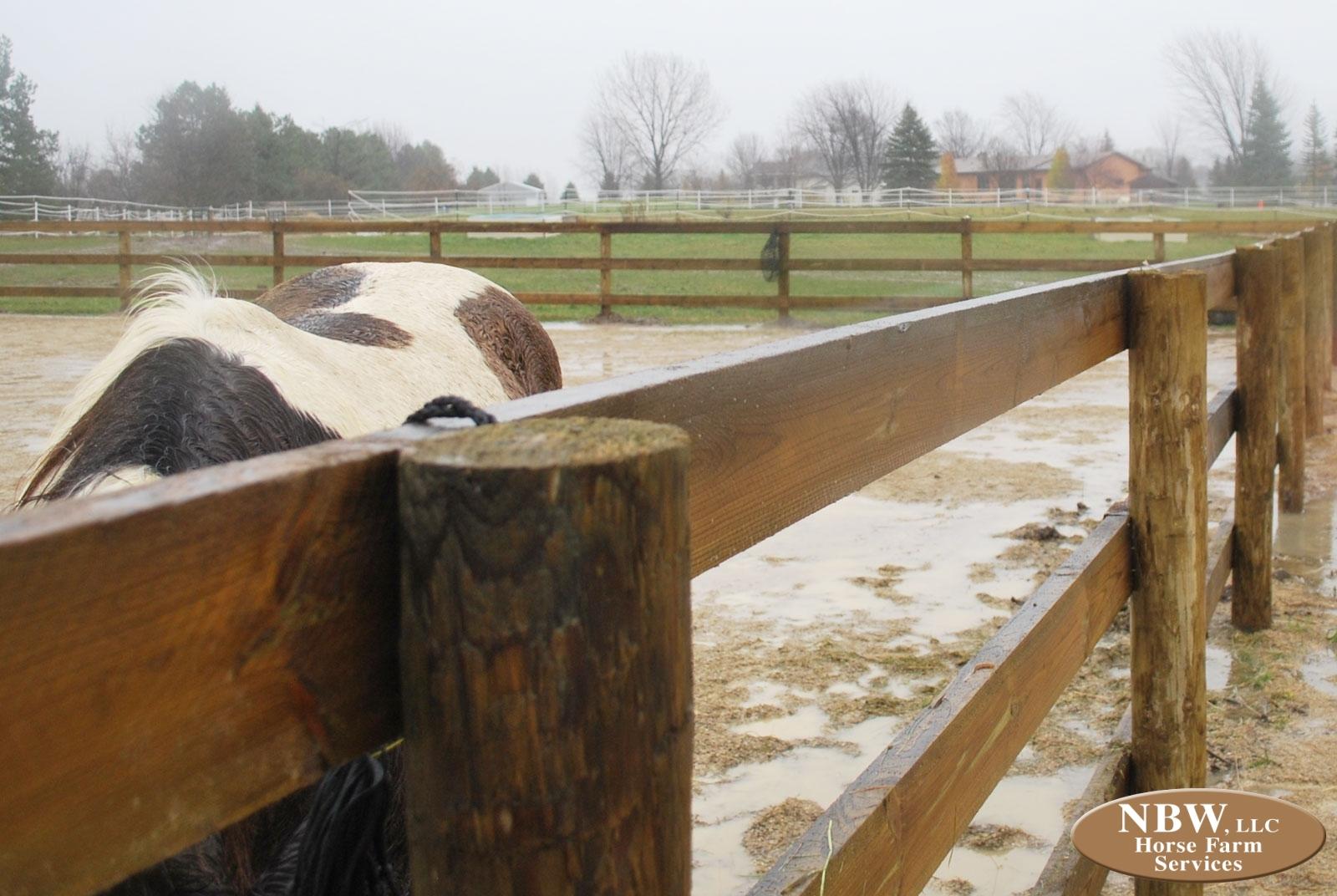 wooden farm fence. 3-Rail Wood Fence Wooden Farm