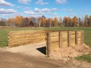 16x16 Standard Manure Bunker