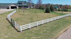 3-Rail Pasture Fence & Gates