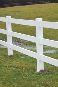 3-Rail Pasture Fencing