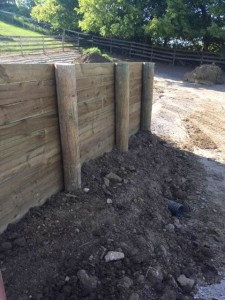 Custom-Built Manure Bunker