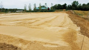 Sand Footings Spread
