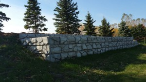 London Boulder Wall